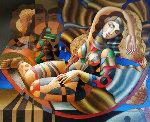 Day Dream 2004 30x36 Original Painting - Oleg Zhivetin