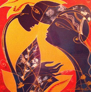 Promise Embellished Limited Edition Print - Oleg Zhivetin