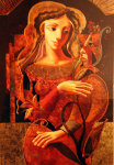 Her Flower Limited Edition Print - Oleg Zhivetin