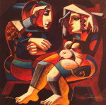 First Date AP Limited Edition Print - Oleg Zhivetin