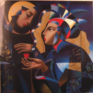 Tender Heart AP 1988 Limited Edition Print - Oleg Zhivetin