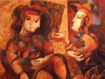Small Gift Embellished 1999 Limited Edition Print - Oleg Zhivetin