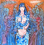Goddess of the Roses 1989 Limited Edition Print - Ling Zhou