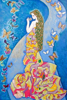 Spirits of the Butterflies 1989 Limited Edition Print - Ling Zhou