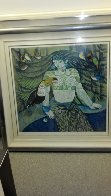 Untitled Serigraph Limited Edition Print by Ling Zhou - 1