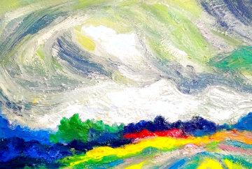 Autumn Landscape 2020 20x16 Original Painting - Memli Zhuri