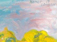 St. James Park Summer Scene 2019 50x40  Super Huge Original Painting by Memli Zhuri - 3
