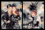 Moulin Rouge Suite of 2 1998 Limited Edition Print - Joanna Zjawinska