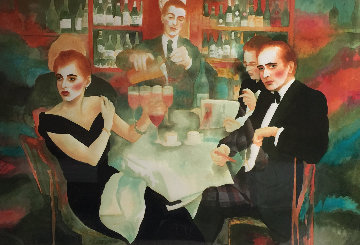 Harry's Bar 1987 Limited Edition Print - Joanna Zjawinska