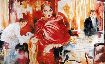 Ask Me, Would I Say Yes? 1995 Limited Edition Print by Joanna Zjawinska
