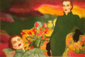 Tulips 1988 Limited Edition Print by Joanna Zjawinska