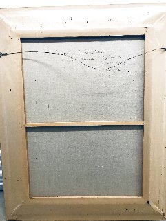 Lulu and Lili 1998 Oil on Canvas Original Painting - Joanna Zjawinska