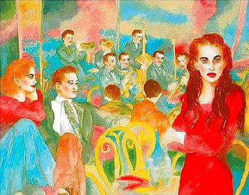 Should I Stay or Should I Go 1988 31x37 Super Huge Limited Edition Print - Joanna Zjawinska