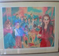 Should I Stay or Should I Go 1988 31x37  Limited Edition Print by Joanna Zjawinska - 0