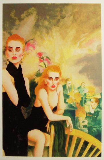 Bradley's 1991 Limited Edition Print by Joanna Zjawinska