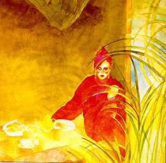 Breakfast at Tiffany's 1986 37x32 Super Huge Limited Edition Print - Joanna Zjawinska