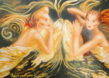 Touch of An Angel 1998 Limited Edition Print - Joanna Zjawinska