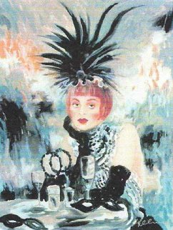 Lola From Moulin Rouge 1998 Limited Edition Print - Joanna Zjawinska