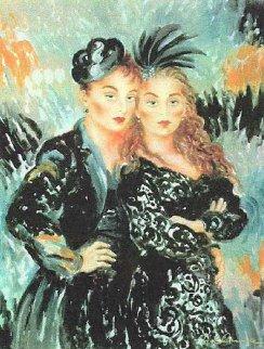 Lulu and Lili Limited Edition Print by Joanna Zjawinska