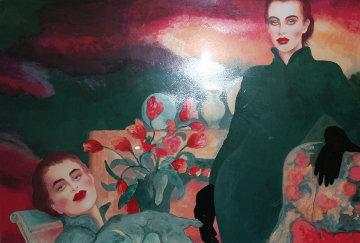 Tulips 1987 36x48 Super Huge Limited Edition Print - Joanna Zjawinska