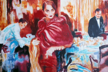 Ask Me Would I Say Yes 1990 Limited Edition Print by Joanna Zjawinska