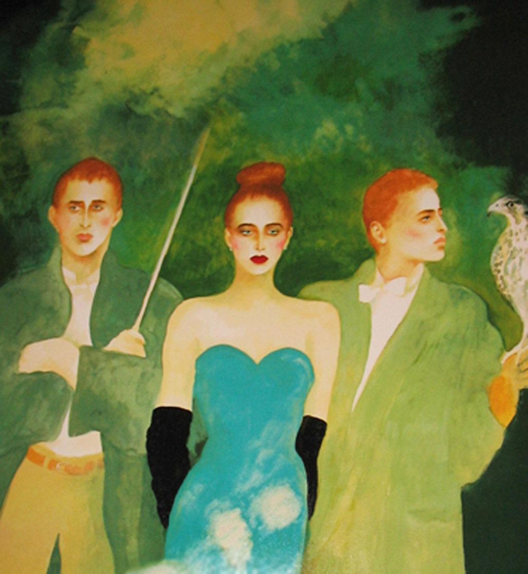 Breathless AP 1993 Limited Edition Print by Joanna Zjawinska