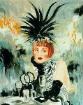 Lola From Moulin Rouge 1998 Limited Edition Print - Joanna Zjawinska