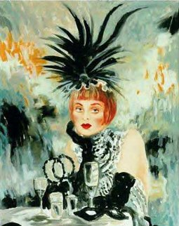 Lola From Moulin Rouge 1998 Limited Edition Print by Joanna Zjawinska