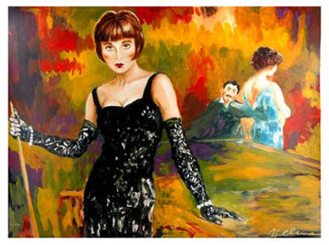 Ever Loved a Woman Who Made You Feel Tall? 1999 Limited Edition Print by Joanna Zjawinska