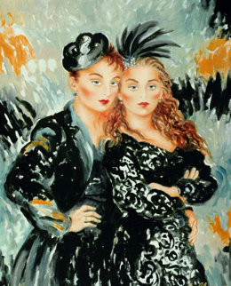 Lulu and LILI  1998 Limited Edition Print - Joanna Zjawinska
