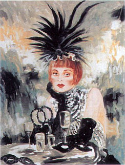 Lola From Te Moulin Rouge Suite 1998 Limited Edition Print by Joanna Zjawinska