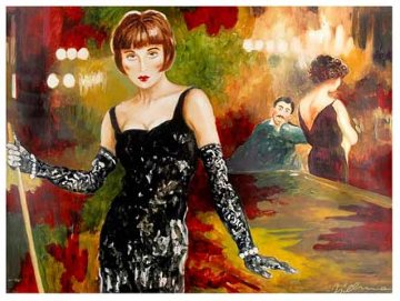 Ever Loved a Woman Who Made You Feel Tall? Embellished 1999 Limited Edition Print by Joanna Zjawinska
