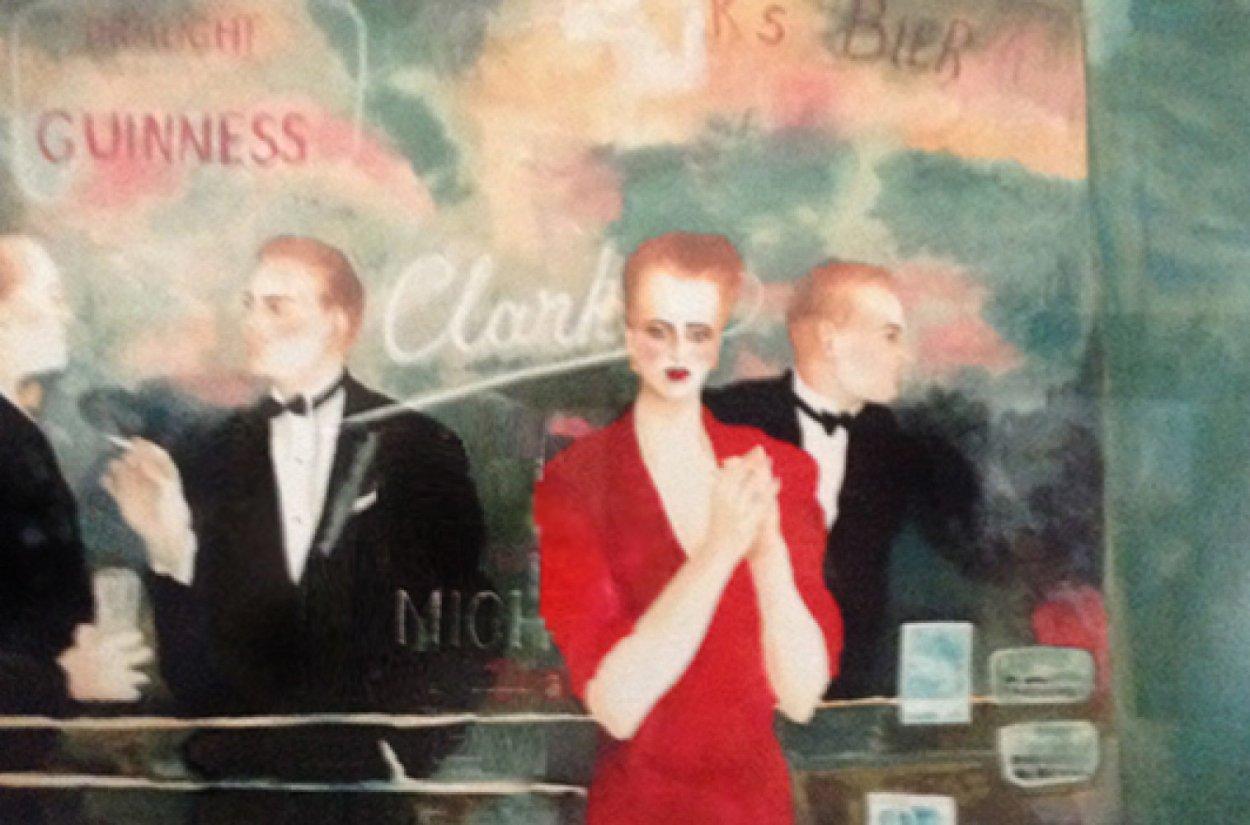 Night Games AP 1988  Limited Edition Print by Joanna Zjawinska