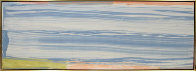 Blue Bonac 27x76 Super Huge Original Painting by Larry Zox - 1