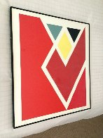 Diamond Drill..... Scarlet AP 1971 Limited Edition Print by Larry Zox - 1