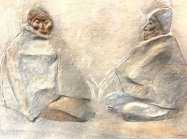 Two Seating Women 1983 Limited Edition Print by Francisco Zuniga