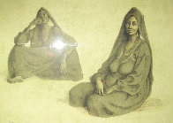Two Women Limited Edition Print by Francisco Zuniga - 0