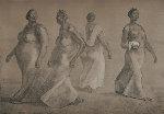 Mujeres Caminando II 1982 Limited Edition Print - Francisco Zuniga