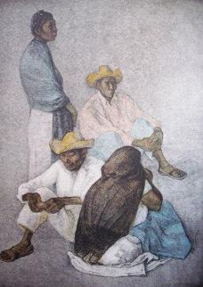 Campesinos 1980 Limited Edition Print by Francisco Zuniga