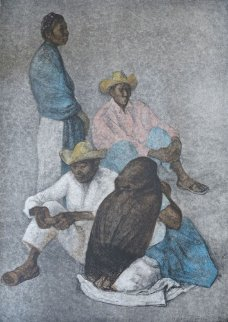 Campesinos 1980 Limited Edition Print by Francisco Zuniga