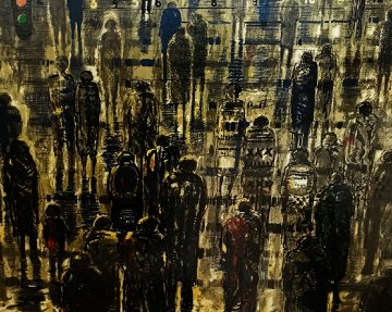 Pedestrians Limited Edition Print by Bruno Zupan