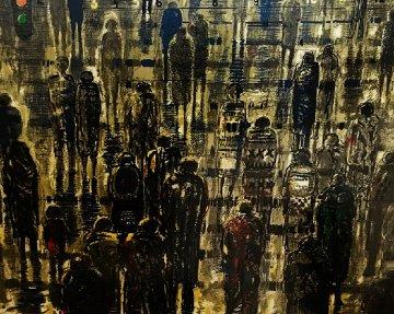 Pedestrians Limited Edition Print by Bruno Zupan