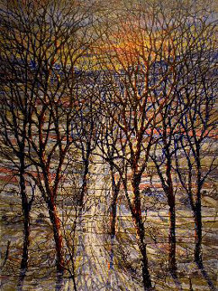 Winter Trees Limited Edition Print by Bruno Zupan