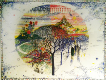 Four Seasons 1976 Limited Edition Print by Bruno Zupan