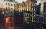 Far Away Look 2000 35x49 Original Painting - Alex Zwarenstein