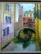 Venice Golden Dawn 28x24 Original Painting by Alex Zwarenstein - 1