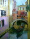 Venice Golden Dawn 28x24 Original Painting by Alex Zwarenstein - 2