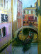 Venice Golden Dawn 28x24 Original Painting by Alex Zwarenstein - 0