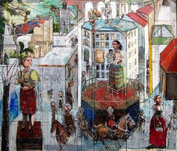 Colony 2011 50x60 Original Painting - Alex Zwarenstein
