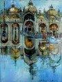 Piazza San Marco, Italy 2014 Original Painting - Alex Zwarenstein